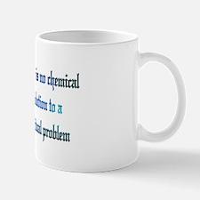 No Chemical Solution Mug