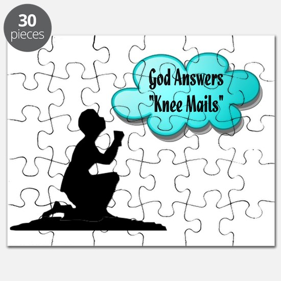 God answers knee mails Puzzle