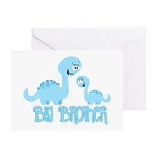 Big Brother Dinosaur Greeting Card