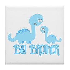 Big Brother Dinosaur Tile Coaster