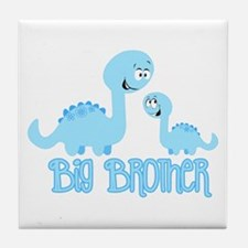 Big Brother Dinosaur Tile Coaster