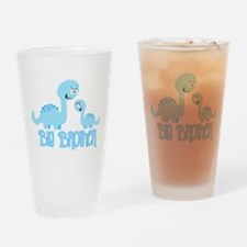 Big Brother Dinosaur Drinking Glass