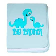 Big Brother Dinosaur baby blanket