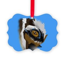 tiger eye search for love 1 Ornament