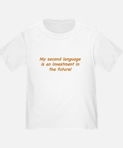 Second Language Investment T-Shirt