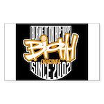 BIOHH Rectangle Sticker