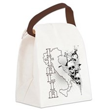 Italian Pride Canvas Lunch Bag
