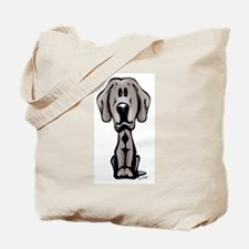 Weimaraner Puppy Tote Bag