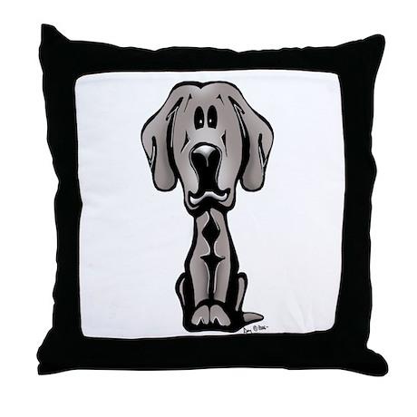 Weimaraner Puppy Throw Pillow