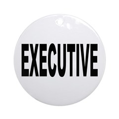 Executive Ornament (Round)