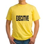 Executive (Front) Yellow T-Shirt