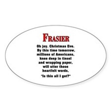 Frasier Christmas Quote Decal