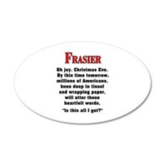Frasier Christmas Quote Wall Decal