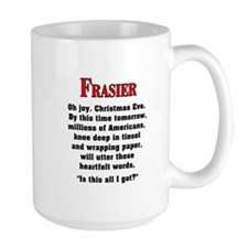 Frasier Christmas Quote Mugs