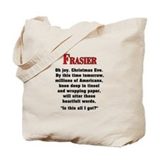 Frasier Christmas Quote Tote Bag