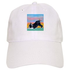 Boston Bull Terrier Baseball Cap