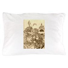 Woodland Woman Pillow Case