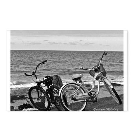 Bikes by the Sea Postcards (Package of 8)