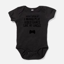 Play Video Games Like My Uncle Body Suit