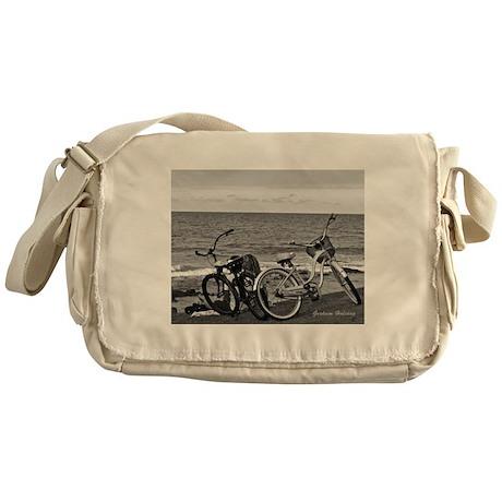 Bikes by the Sea Messenger Bag