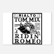 Tom Mix Ridin' Romeo Postcards (Package of 8)