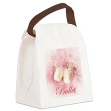 Ballet Canvas Lunch Bag