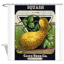 SQUASH - Summer crnc Shower Curtain