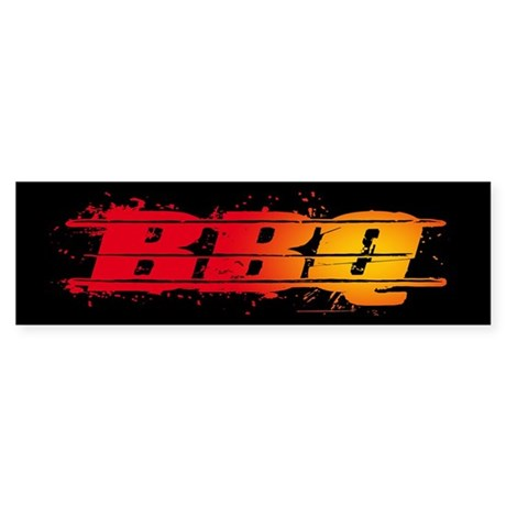 BBQ Sticker (Bumper)