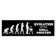 Evolution of the Grill Master Bumper Sticker