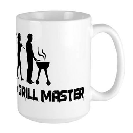 Evolution of the Grill Master Large Mug