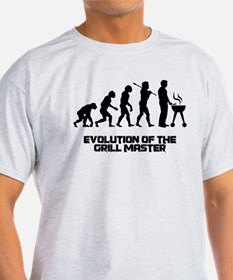 Evolution of the Grill Master T-Shirt