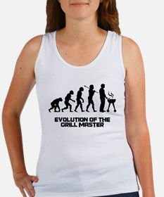 Evolution of the Grill Master Women's Tank Top