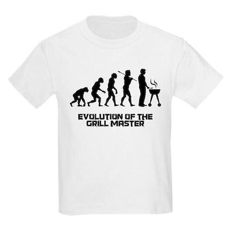 Evolution of the Grill Master Kids Light T-Shirt
