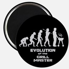 """Evolution of the Grill Master 2.25"""" Magnet (10 pac"""