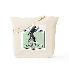 The Pissed Sasquatch Club Tote Bag