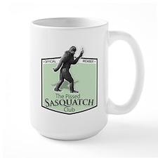 The Pissed Sasquatch Club Mugs