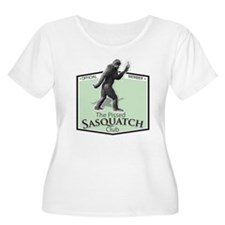 The Pissed Sasquatch Club Plus Size T-Shirt