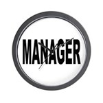 Manager Wall Clock