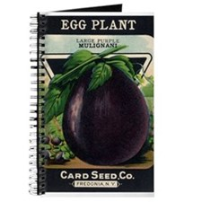 EGGPLANT - Large Purple Mulignani crnc Journal