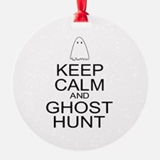 Keep Calm Ghost Hunt (Parody) Ornament