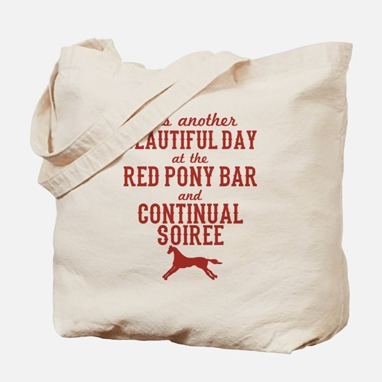 Longmire Red Pony Continual Soiree Tote Bag