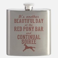 Longmire Red Pony Continual Soiree Flask