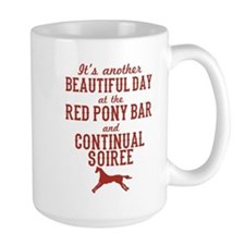 Longmire Red Pony Continual Soiree Mugs