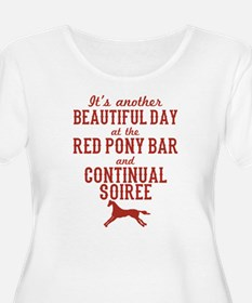 Longmire Red Pony Continual Soiree Plus Size T-Shi