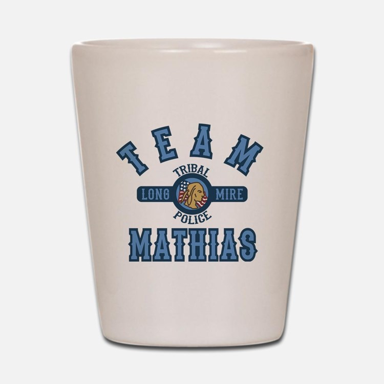 Longmire Team Mathias Shot Glass
