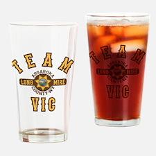 Longmire Team Vic Drinking Glass