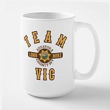 Longmire Team Vic Mugs