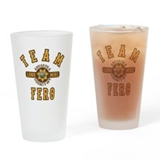 Longmire Team Ferg Drinking Glass