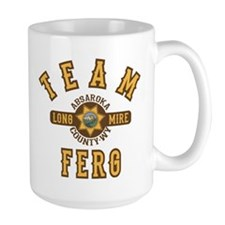 Longmire Team Ferg Mugs