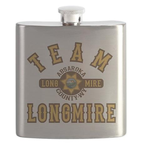 Team Longmire Flask